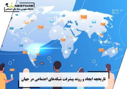 تاریخچه ایجاد و روند پیشرفت شبکههای اجتماعی در جهان